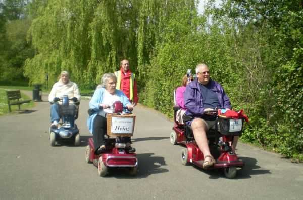 Shopmobility Basingstoke Trundle
